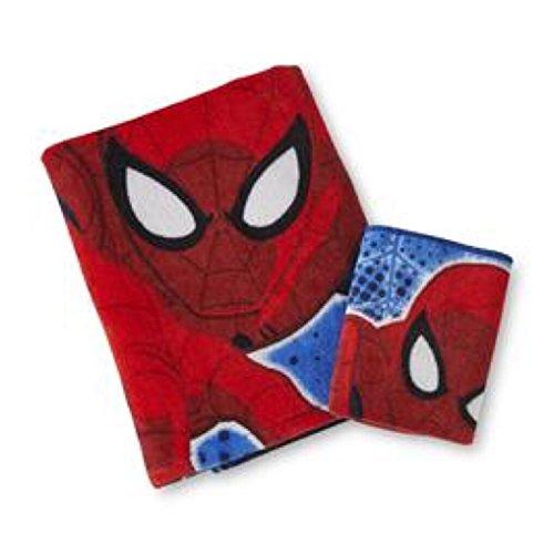 Marvel ultimate spiderman fabric shower curtain bath towel for Spiderman bathroom ideas