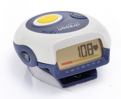 Oregon Scientific PE826 Pedometer with Pulse Meter