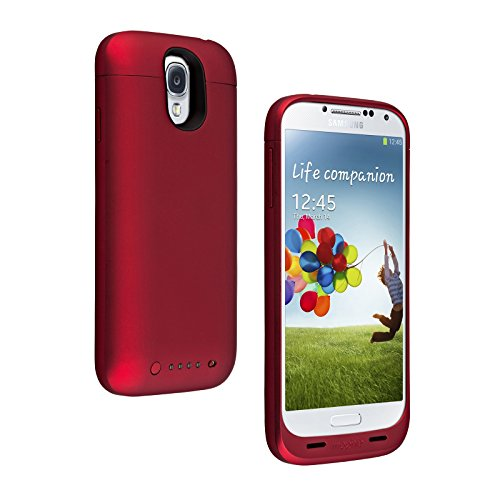 mophie juice pack for Samsung Galaxy S4 (2,300mAh) - Red (Certified Refurbished) (Mophie Juice Pack S4 compare prices)