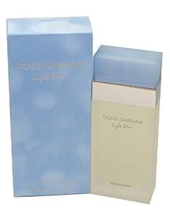 Dolce and Gabbana Light Blue by for Women Eau De Toilette Spray, 3.3-Ounce