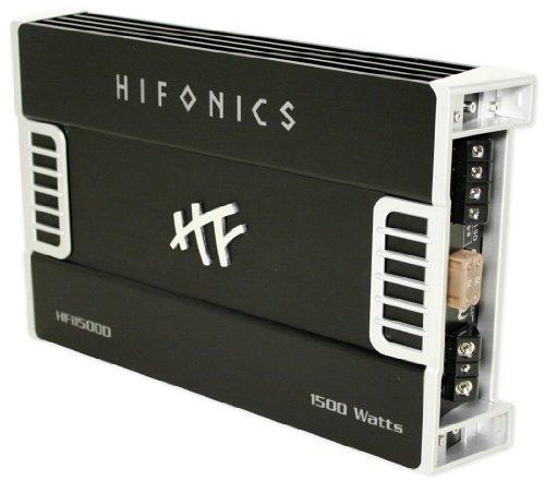 Hifonics Hfi1500D 1,500 Watt Rms Mono Block Amplifier