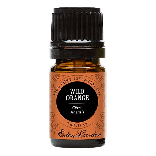 Wild Orange 100% Pure Therapeutic Grade Essential Oil by Edens Garden- 5 ml