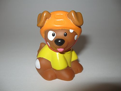 Fisher Price Little People Skateboarding Pet Dog Eddie Play Set Replacement Pup - 1