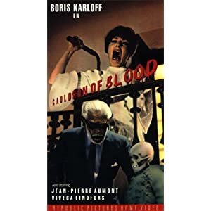 "Cauldron of Blood - (aka ""Blind Man's Bluff"") [VHS]"