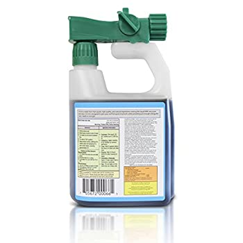 Advanced 16-4-8 Balanced NPK- Lawn Food Natural Liquid Fertilizer- Spring & Summer Concentrated Spray - Any Grass Type- Simple Lawn Solutions, 32-Ounce- Green, Grow, Root Growth, Health & Strength