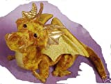 41Z3ME11F3L. SL160  Plush Topaz Golden Dragon 15