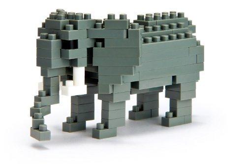 Kawada NBC-035 Nanoblock Elephant Building Kit - 1
