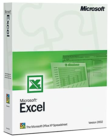 Microsoft Excel 2002 Upgrade [OLD VERSION]