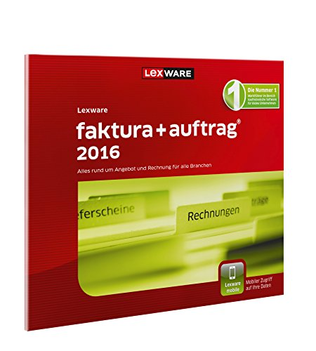 lexware faktura auftrag 2016 inkl 365 tage aktualit tsgarantie frustfreie verpackung. Black Bedroom Furniture Sets. Home Design Ideas