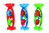 Androni 7106631 - Sandmühle Maus mit 3 Rädern, circa 35 cm