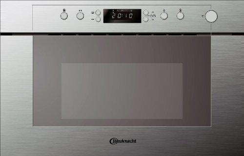Bauknecht EMPC 9238 PT/MOD Four à micro-ondes Acier inoxydable Systèmes Rapid Start et Crisp 22 l / 750 W (Import Allemagne)