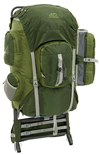 ALPS Mountaineering Zion 3900 Cubic Inches External Pack (Olive) (External Frame compare prices)