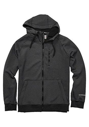 NIXON Alto Full Zip Hoodie Black Fall Winter 16-17 - S