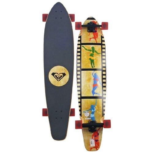 Amazon.com : Roxy Tiny Dancer Longboard Skateboard - Red : Apparel