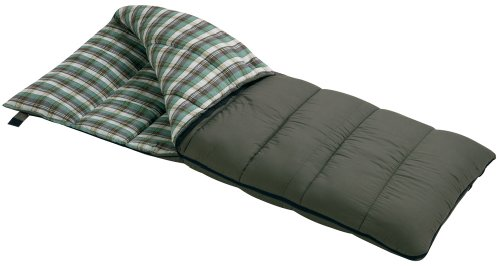Wenzel Conquest 25-Degree Sleeping Bag (Olive)