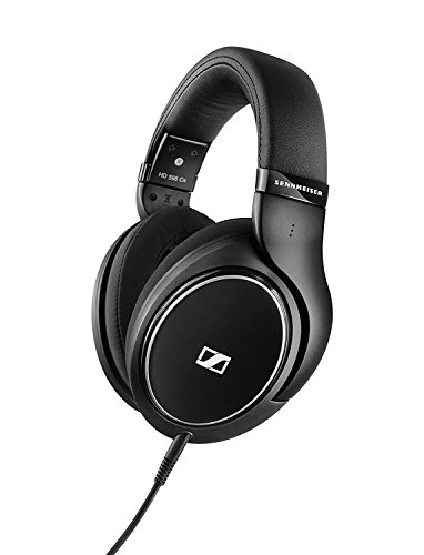 Sennheiser HD 598 Cs Around-Ear Closed Back Headphones - Black