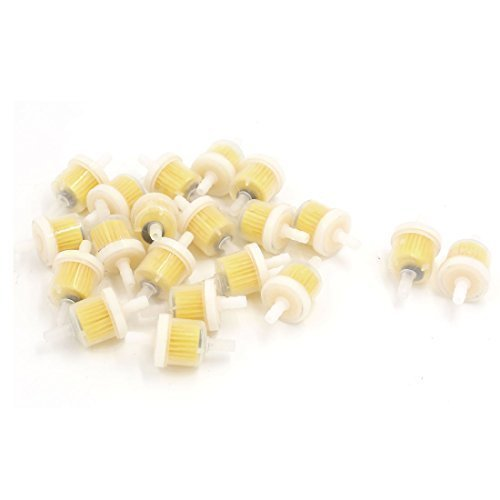 sourcingmapr-20-pezzi-7mm-dia-moto-carburante-benzina-inline-detergente-per-filtri-w-magnete