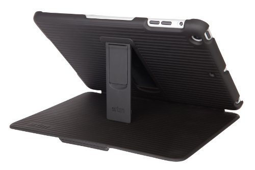 STM Grip for iPad mini, Black (stm-222-010G-01)