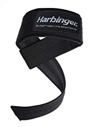 Big Grip Padded Lifting Straps (No-Slip Grip)