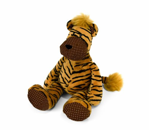 7.5 inches  Plush Jumbledies Tiger