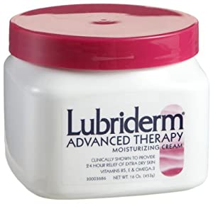 Lubriderm Advanced Therapy Moisturizing Cream, 16-Ounces
