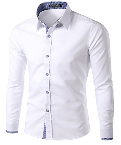 dragonpad-mens-classic-slim-fit-long-sleeve-dress-shirts-white-l