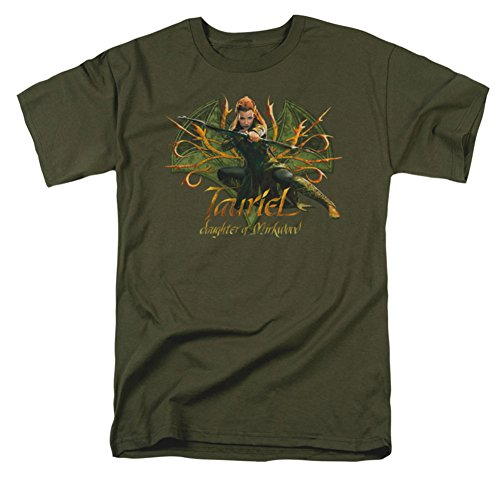 The Hobbit Desolation Of Smaug Tauriel Movie Adult T-Shirt Tee