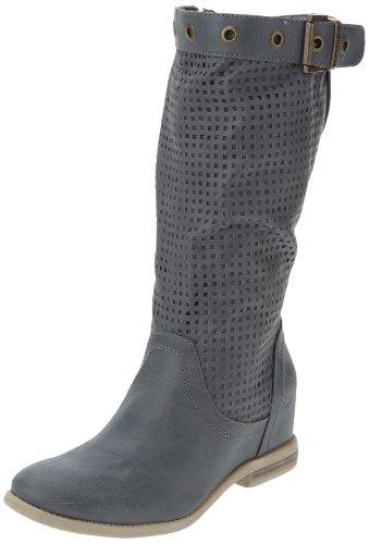 Mustang Stiefel 3104-501-830 Damen Stiefel, Blau (indigo 830), EU 38