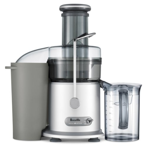 New Breville RM-JE98XL Certified Remanufactured Juice Fountain Plus 850-Watt Juice Extractor