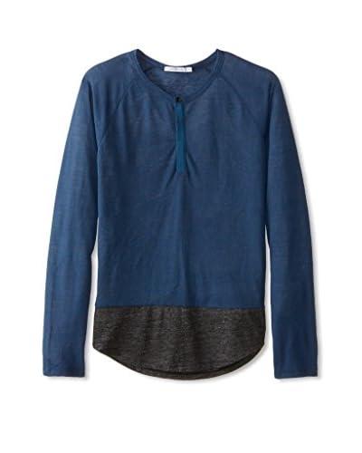 Alternative Men's Shirttail Long Sleeve Henley