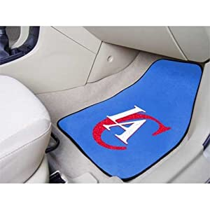 Los Angeles Clippers universal fit Carpet 2 Pc Car Floor Mat (Rug) by Fanmats