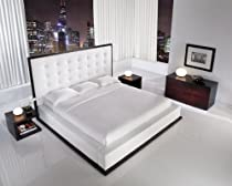 Hot Sale Ludlow Platform Bed (Queen - White)