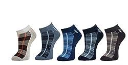 Marc Men's Socks (Pack Of 5) (Multi-Coloured_Free Size)