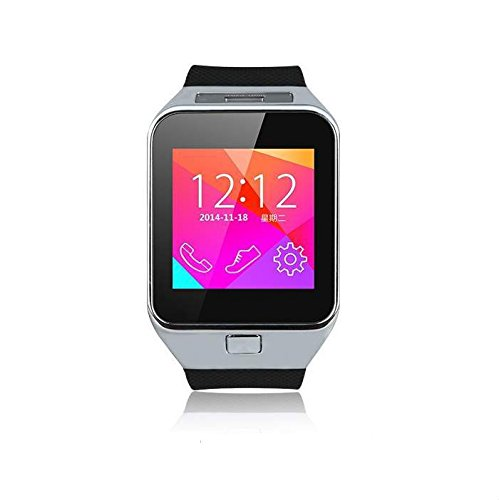 Mobile Gear Mobilegear Bluetooth Smart Wrist Watch Mobile Phone with SIM Slot,Camera & Android iOS Connectivity