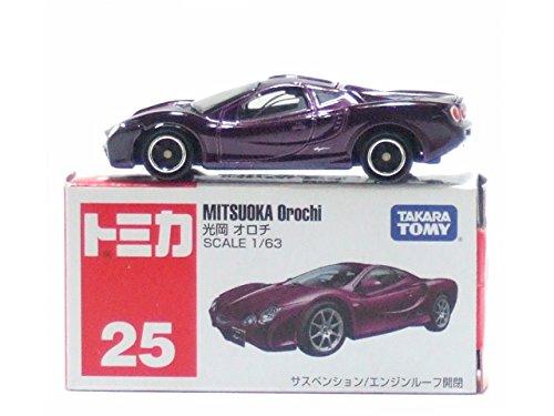 TOMY Tomica No.25 Mitsuoka Orochi Diecast Toy Car - 1