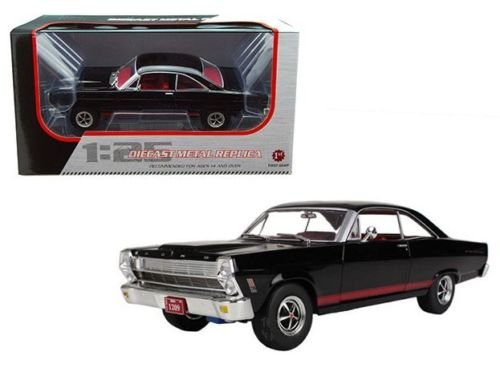 NEW 1:25 FIRST GEAR COLLECTION - BLACK 1966 FORD FAIRLANE 427 Diecast Model Car By FIRST GEAR (Diecast First Gear compare prices)