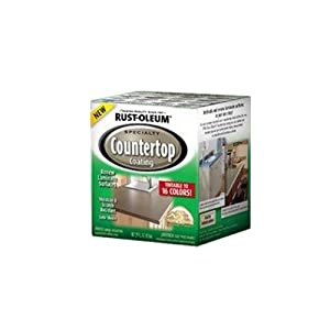 Rustoleum Countertop Paint Amazon : RUST-OLEUM 246068 Quart Interior Countertop Coating