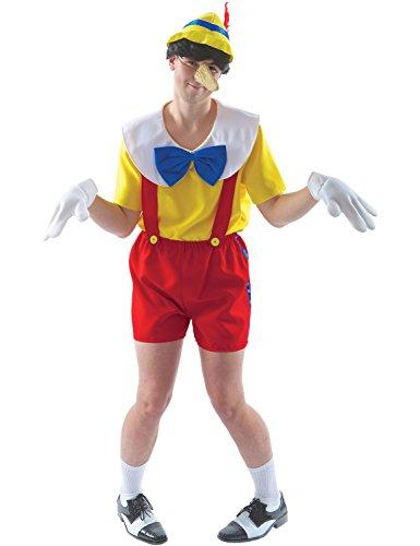 Pinocchio Herrenkostüm Karneval Verkleidung Standard