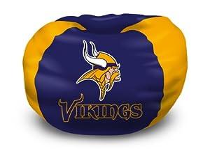 Northwest Co. 1NFL 15800 0023 RET NFL Minnesota Vikings Bean Bag Chair by Northwest