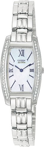 Citizen Eco-Drive Women's Stiletto Diamond Watch #EG3060-52D