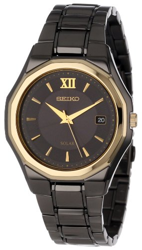 Seiko Men's SNE168 Dress Solar Classic Watch