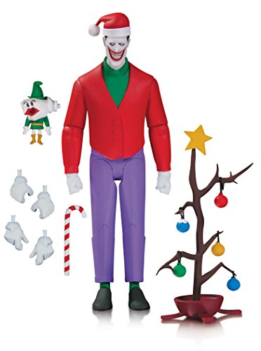 DC Collectibles Batman The Animated Series Christmas Action Figure with The Joker