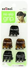 Scunci No-slip Grip Chunky Jaw Clips Pack of 5