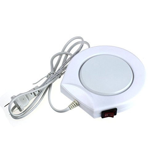 Review Mokingtop(TM) New Office House Use Electric Warmer Cup Coffee Milk Heating Pad 110V