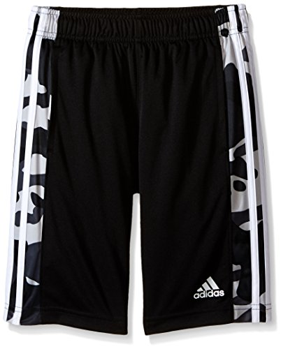 adidas Big Boys' Active Short, Black/Grey, X-Large/18