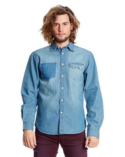 Springfield Camicia Denim [Blu]