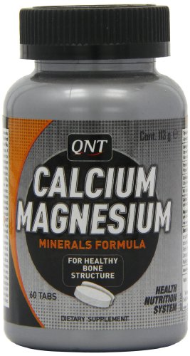QNT Calcium Magnesium Joint and Bone Support Tablets - Tub of 60