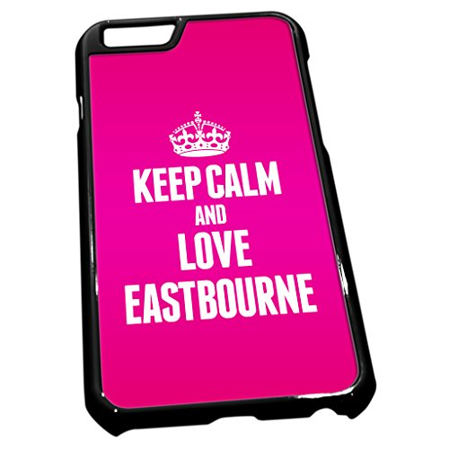 cover-per-iphone-6-colore-nero-0227-rosa-keep-calm-and-love-aegon