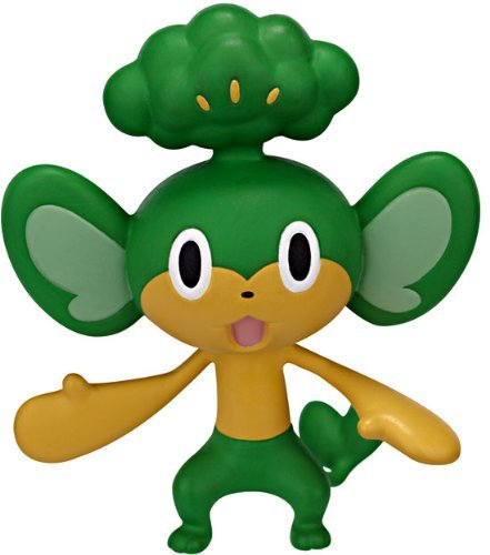 Pokemon Black & White Basic Series 2 Pansage Action Figure - 1