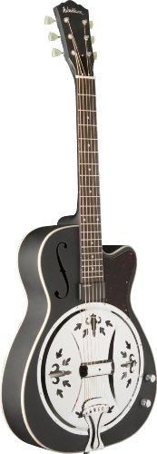 Washburn Usm-R60Bce Resonator Guitar, Matte Black